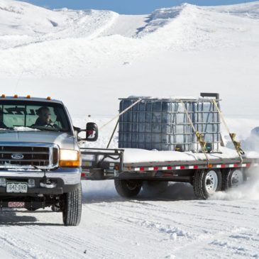 Towing on Winter Roads